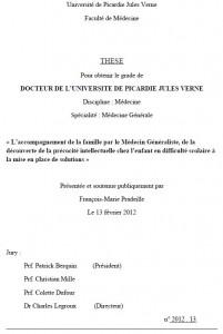 Pour lire la thèse de François-Marie Pradeille, cliquez sur l'image (format PDF)