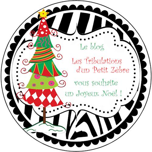 Joyeux Noël, par les Tribulations d'un Petit Zèbre