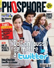 """Phosphore janvier 2013,  Ma vie m'a dit : """"Je suis surdoué"""""""