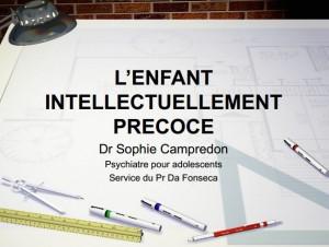L'enfant précoce, Dr Campredon Cliquez pour uvrir, au format PDF