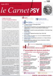 Le Carnet Psy n°169, mars 2013