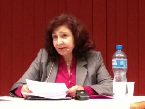Arielle Adda en conférence pour l'ASEP, à Lausanne