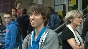 Gabriel, un jeune brésilien surdoué, passe son bac en Normandie