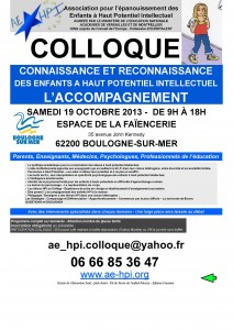 Colloque AE-HPI