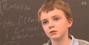 Un petit génie de 10 ans admis à l'université en Suisse