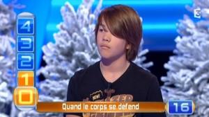 [VIDÉO] David, 14 ans, finaliste du Trophée des lycées (QPUC, janvier 2014)