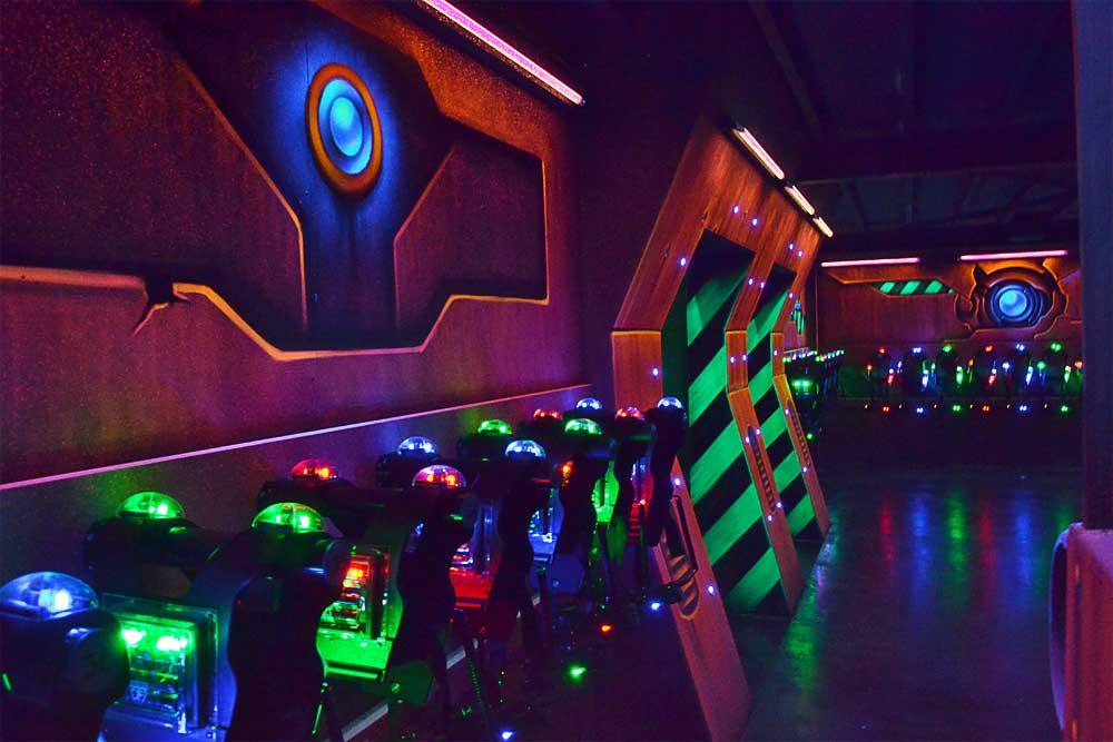 Samedi Pluvieux Laser Game Heureux Avec Tous Nos Amis
