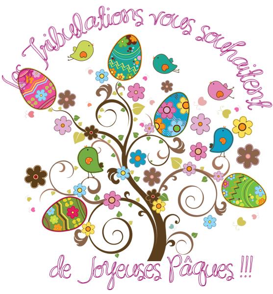 Les Tribulations d'un Petit Zèbre & d'une Aspergirl vous souhaitent de Joyeuses Pâques :))