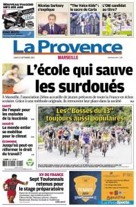 L'école qui sauve les surdoués (La Provence, septembre 2014)