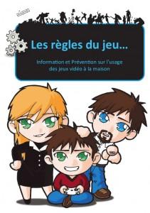 La brochure de prévention d'une utilisation excessive des jeux vidéo
