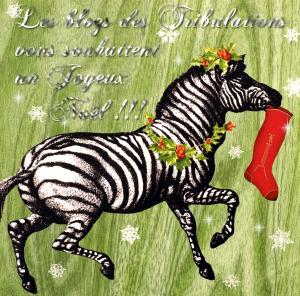 Joyeux Noël & belles fêtes aux zèbres de tous poils :D