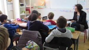 Pas de notes pour les primaires de l'école Corbilo (Ouest-France, décembre 2014)