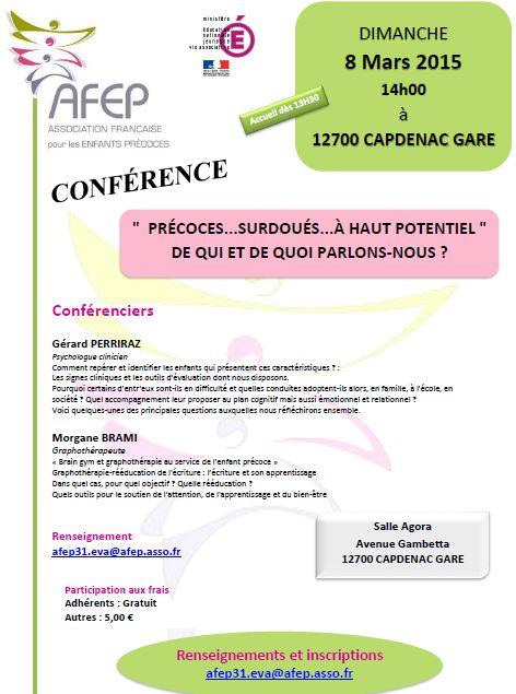 Conférence AFEP du 08 mars 2015 à Capdenac Gare (cliquez pour ouvrir au format PDF)