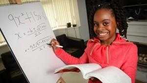 Esther, 10 ans et déjà en licence de mathématiques (LeFigaro Etudiant, mars 2015)