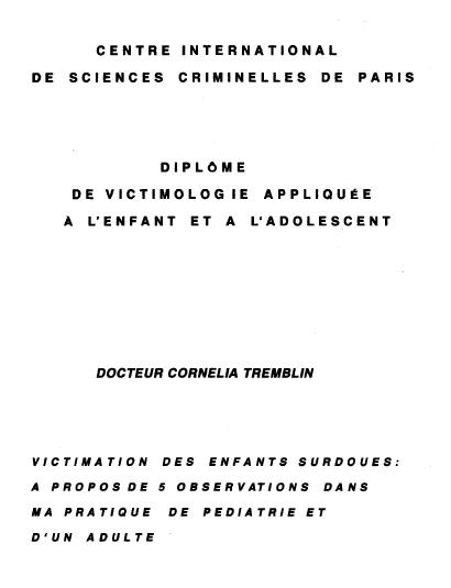 """Mémoire """"Victimation des enfants surdoués"""" (cliquez pour ouvrir au format PDF)"""