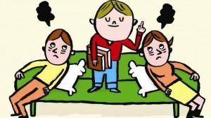 Parents-enfants. « Élever une encyclopédie sur pattes » (Ouest-France, avril 2015)