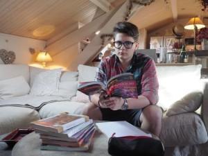 Le Niçois Pierre-Antoine, 13 ans, un des plus jeunes candidats au bac de l'académie (Var-Matin, mai 2015)