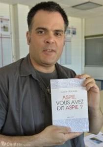 Ludovic Fauchier vient de publier un livre sur 94 personnalités autistes Asperger, comme lui (LePopulaire, juillet 2015)