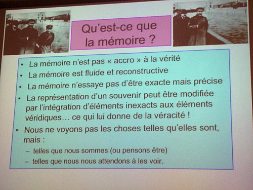 Mémoires & apprentissage