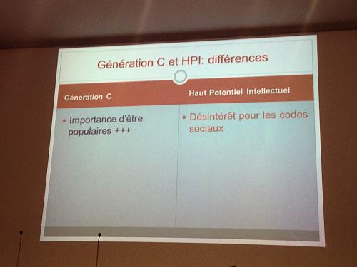 Haut potentiel & génération Z, différences