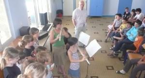 Une journée à la colonie des «surdoués» de Naucelle (La Dépêche, juillet 2015)