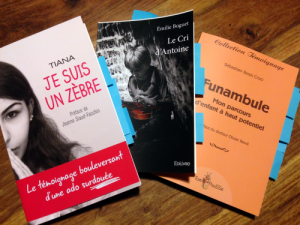 Trois premiers livres, par trois jeunes auteurs HPI : Emilie Boguet, Sébastien Bossi Croci & Tiana