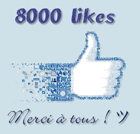 8 000 likes pour Les Tribulations d'un Petit Zèbre
