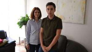 Armand 16 ans, raconte son quotidien d'adolescent surdoué (Le Figaro étudiant, avril 2016)