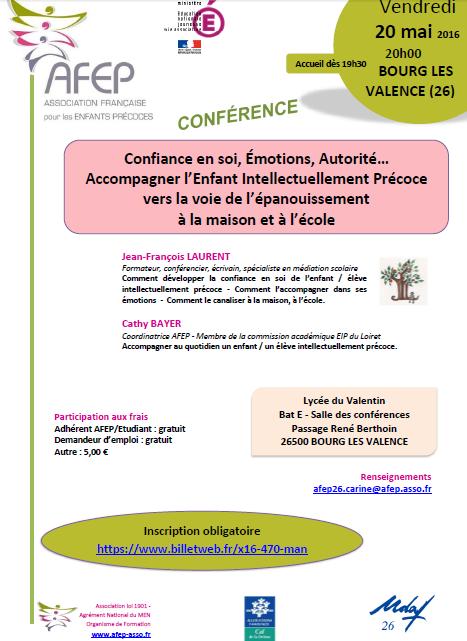 Conférence AFEP à Bourg-les-Valence, avec Jean-François Laurent (cliquez pour ouvrir au format PDF)