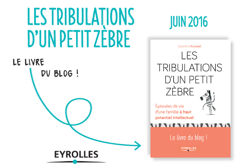 """Quand parait le livre """"Les Tribulations d'un Petit Zèbre"""", aux éditions Eyrolles :))"""