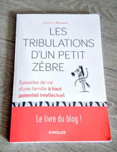 Les Tribulations d'un Petit Zèbre, le livre du blog !