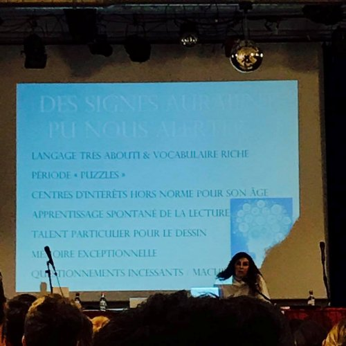 Intelligence Day, Mensa, Alexandra Reynaud