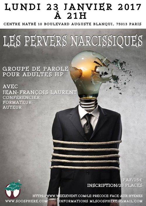 [ATELIER / GROUPE de PAROLE] avec Jean François Laurent à Paris :
