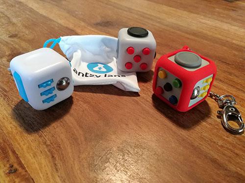 Nos Fidget cubes sont arrivés :)