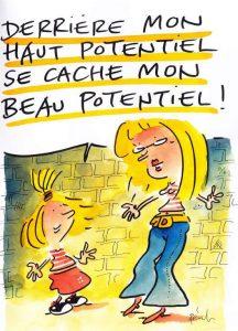 [CONFÉRENCE] ANPEIP à Aix les Bains, de Doris Perrodin & moi-même, sur les filles HPI & aspies